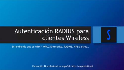 Autenticación RADIUS para WiFi con acceso controlado por Active Directory