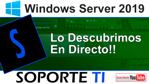Windows Server 2019 ya está aquí!