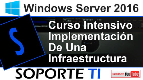 Curso Intensivo GRATIS de Windows Sever 2016